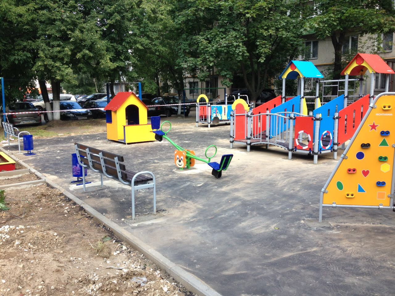 Детская площадка ул. 60 лет Октября