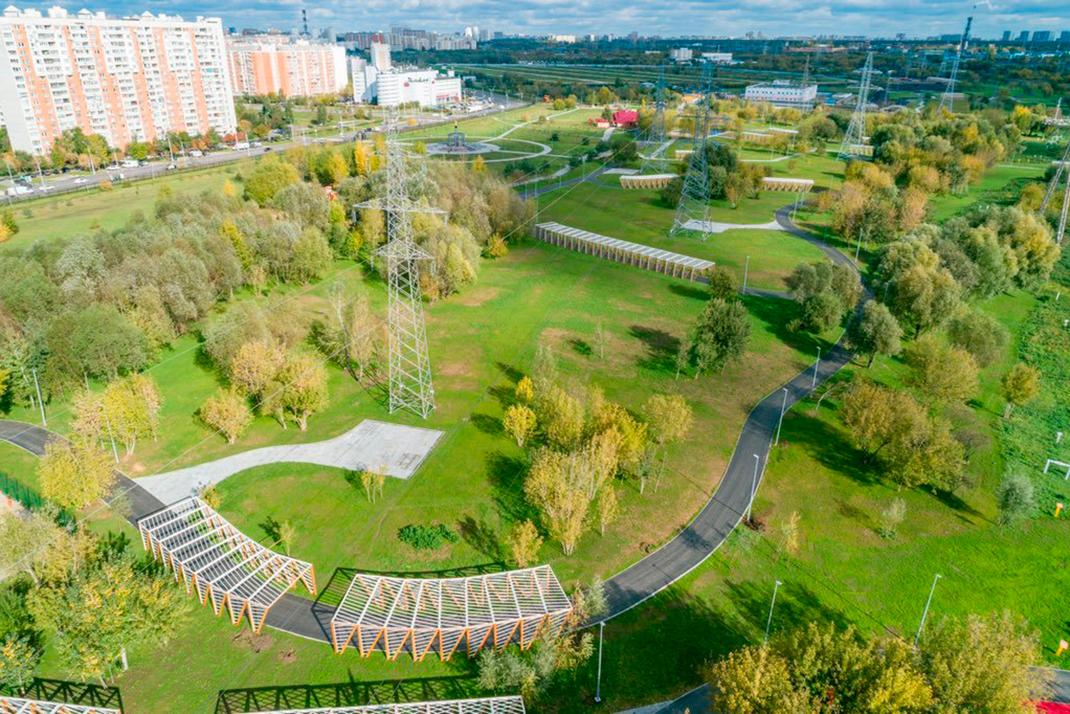 Детская площадка ул. Шереметьевская