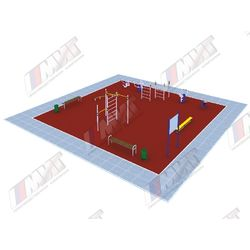 Площадка ГТО  (IV-V ступень от 13 до 17 лет)