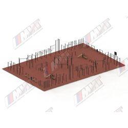 Спортивная площадка для WORKOUT №4 (цельно-сварное оборудование)