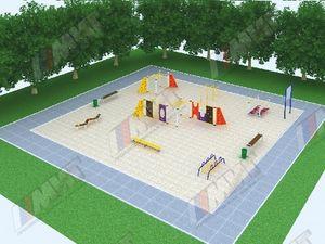 Площадка ГТО  (I ступень от 6 до 8 лет)
