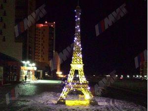Эйфелева башня вид 2